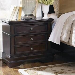 Copper Grove Mongu Cappuccino Rectangular 3-drawer Nightstand