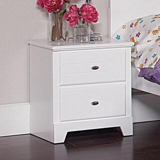Portia White 2-drawer Rectangular Nightstand