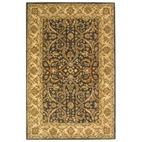 Safavieh Handmade Heritage Timeless Traditional Charcoal Grey/ Ivory Wool Rug - 9'6 x 13'6