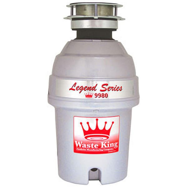 Waste King Legend 9980 1 Horsepower Garbage Disposer