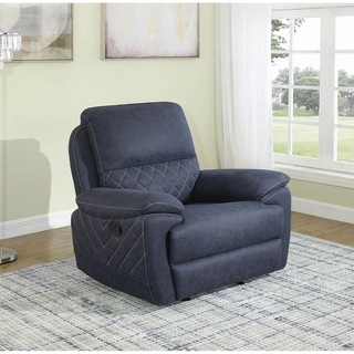 Selena Pillow Top Arm Upholstered Glider Recliner