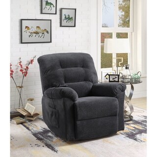 Lavell Pillow Top Arm Upholstered Power Lift Recliner