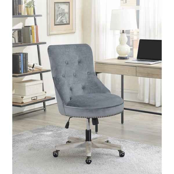 Shop Flynn Grey Height Adjustable Office Chair with ...