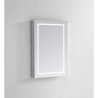 "Aquadom Royale Plus LED Medicine Cabinet 24""x36""x5"" Right Hinge"