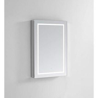 "Aquadom Royale Plus LED Medicine Cabinet 24""x36""x5"" Left Hinge"