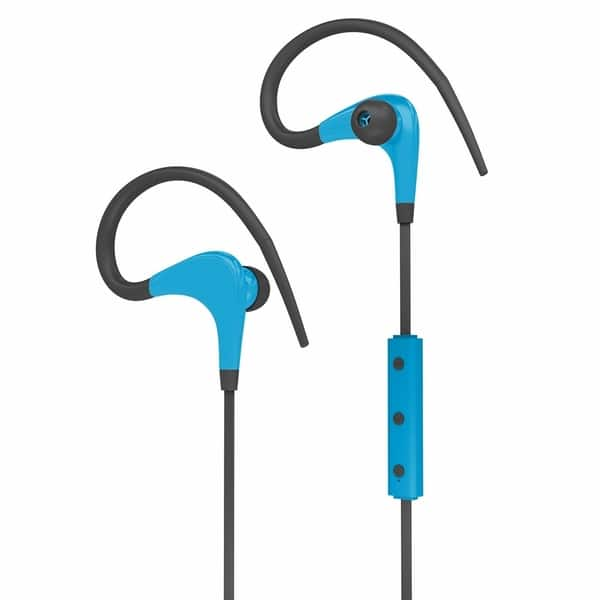 Shop Biconic Bluetooth Headphones Wireless Stereo Earphone Microphone Earbud Blue Overstock 29137288
