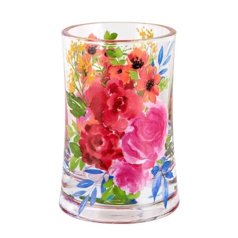 Porch & Den Sora Floral Burst Tumbler