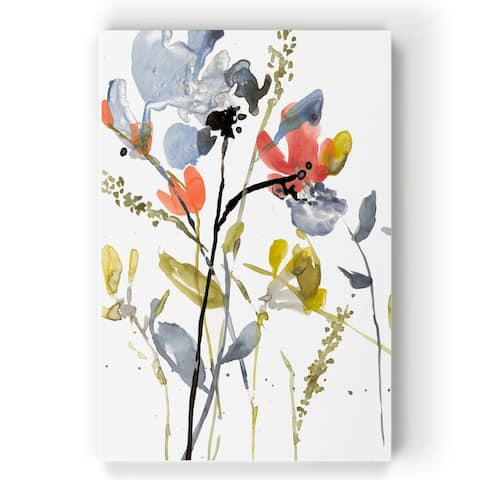 Flower Overlay II -Gallery Wrapped Canvas