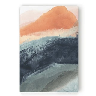Soft Waves I  -Gallery Wrapped Canvas