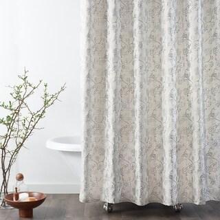 Copper Grove Traun Jacobean Floral Shower Curtains