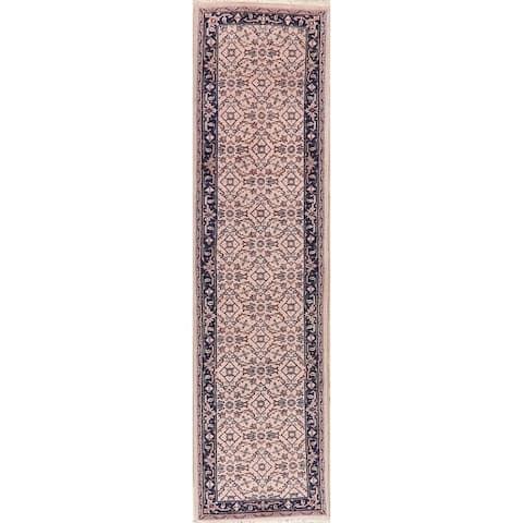 Bidjar Oriental Hand Knotted Persian Style Traditional Wool Indian Rug