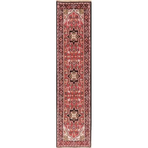 Heriz Traditional Carpet Hand Knotted Persian Oriental Wool Indian Rug