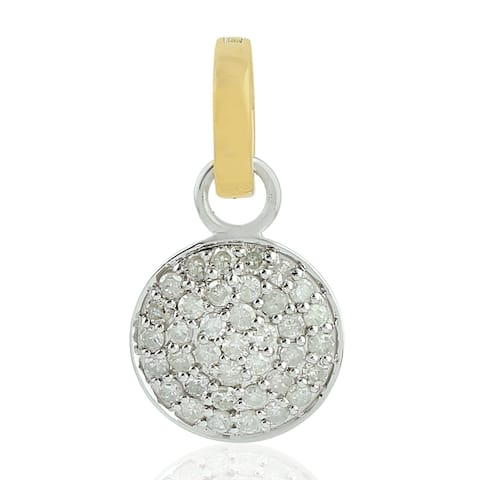 14Kt Gold Diamond Designer Charms Gold Jewelry