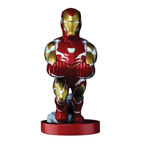 """Exquisite Gaming Cable Guy Charging Controller and Device Holder - Marvel Avengers: End Game Iron Man 8"""""""