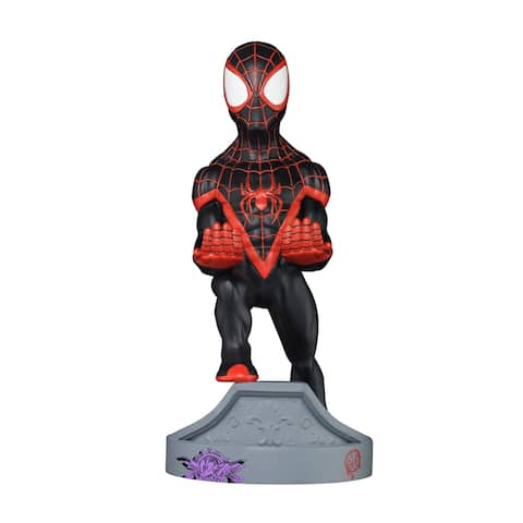 """Exquisite Gaming Cable Guy Charging Controller and Device Holder - Miles Morales Spiderman 8"""""""