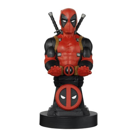 """Exquisite Gaming Cable Guy Charging Controller and Device Holder - Marvel Deadpool 8"""""""