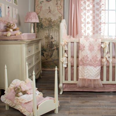Remember My Love 4Pc Set ( quilt, bumper, sheet, crib skirt) - 8' x 11'