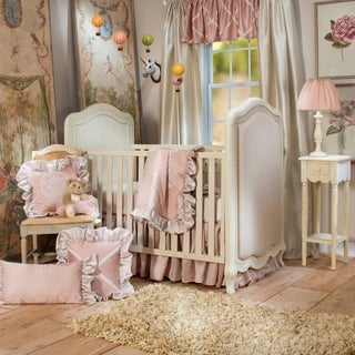 Link to Glenna Jean Angelica 3Pc Set (Includes quilt,   sheet, crib skirt) - 8' x 11' - 8' x 11' Similar Items in Bedding Sets