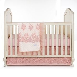 Link to Remember My Love 3Pc Set (Includes quilt,  moire sheet, crib skirt) - 8' x 11' Similar Items in Bedding Sets
