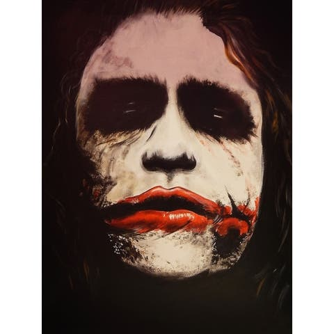 CANVAS Joker Why So Serious? by Ed Capeau Art Painting Reproduction