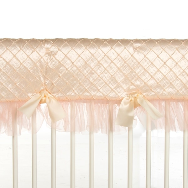 Remember My Love Convertible Crib Rail Protector - Long (Individual) - N/A. Opens flyout.