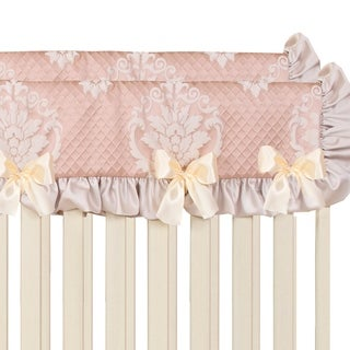 Link to Glenna Jean Angelica Convertible Crib Rail Protector - Short (Set of 2) - N/A Similar Items in Child Safety