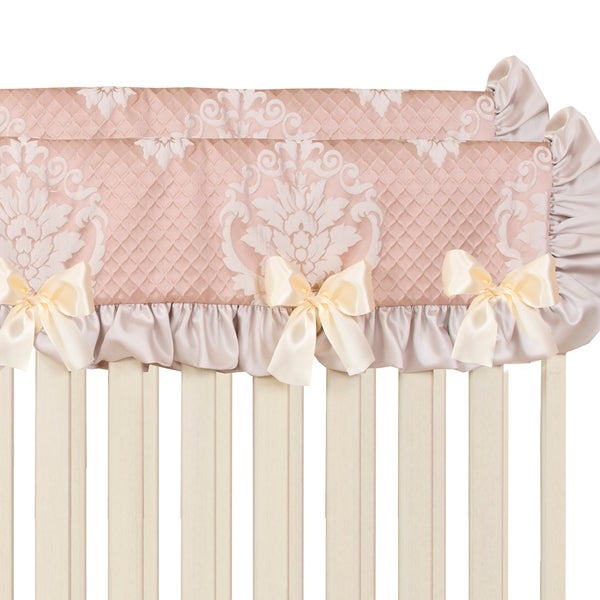 Glenna Jean Angelica Convertible Crib Rail Protector - Short (Set of 2)