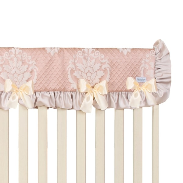 Glenna Jean Angelica Convertible Crib Rail Protector - Long (Individual) - N/A. Opens flyout.