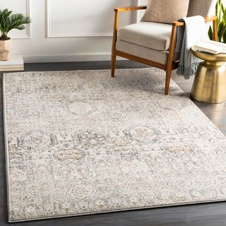 Link to Copper Grove Appingedam Vintage Medallion Area Rug Similar Items in Farmhouse Rugs