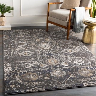 Link to Fitz Vintage Floral Area Rug Similar Items in Rugs