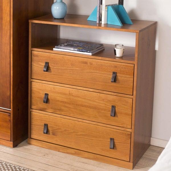 Copper Grove Rivne 3-drawer Dresser