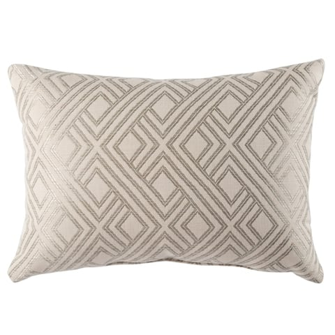 Mirmar Indoor/ Outdoor Trellis Throw Pillow