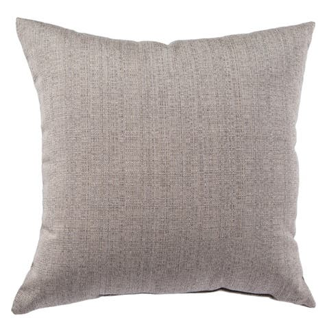 Buena Indoor/ Outdoor Solid Throw Pillow