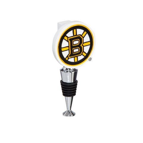 NHL Logo Bottle Stopper with Cork Holder