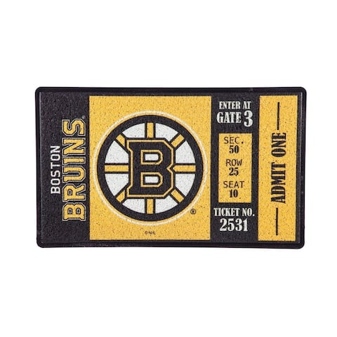 NHL 30-inch x 18-inch Vinyl Indoor/Outdoor Turf Floor Mat