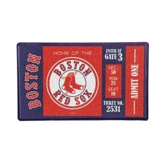 Link to MLB 30-inch x 18-inch Vinyl Indoor/Outdoor Turf Floor Mat Similar Items in Fan Shop