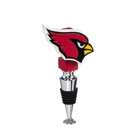 NFL Logo Bottle Stopper with Cork Holder