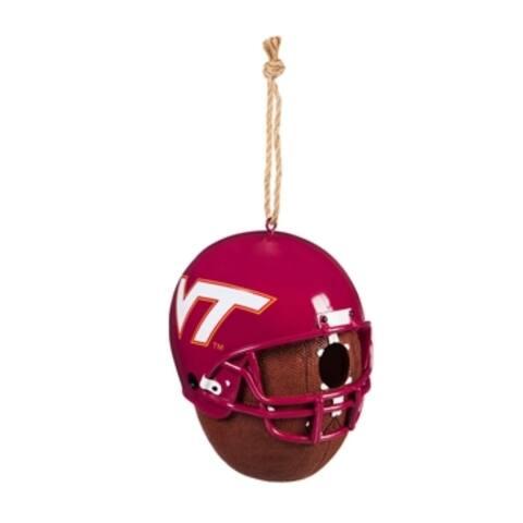 NCAA 8-inch x 7.5-inch x 6.5-inch Team Ball Logo Birdhouse