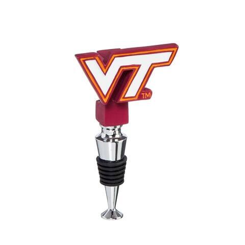 NCAA Logo Bottle Stopper with Cork Holder