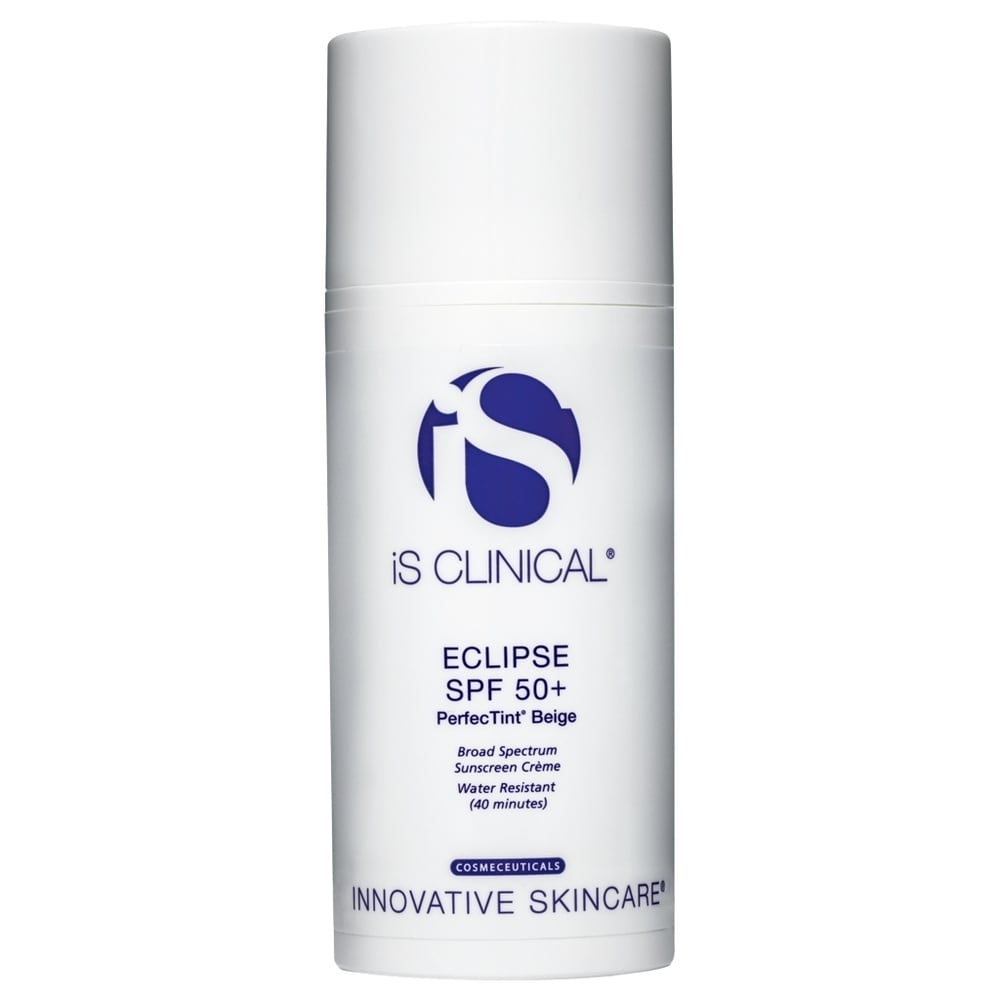 iS Clinical Eclipse SPF 50+ PerfecTint Beige 3.5 oz / 100 g (White - Body Sunscreen)