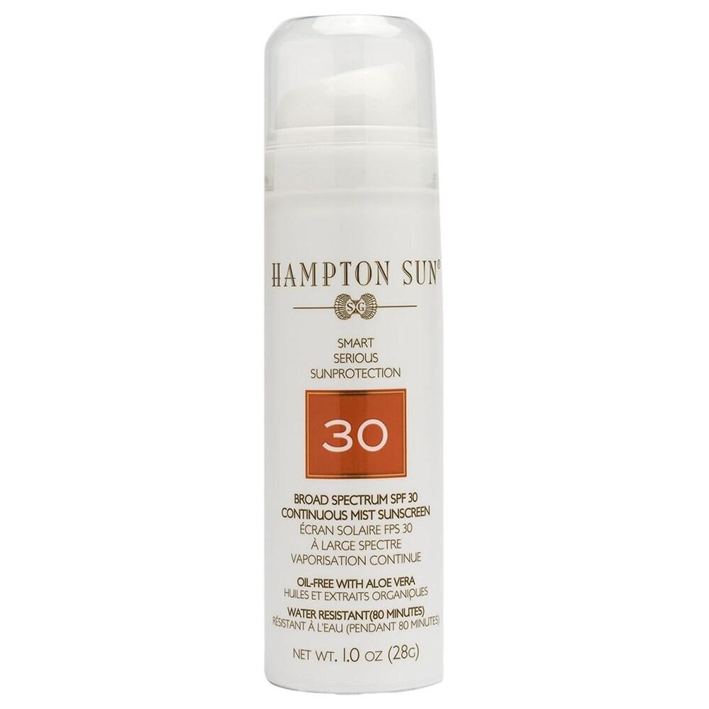Hampton Sun SPF 30 Continuous Mist 5 oz (White - Body Sunscreen)