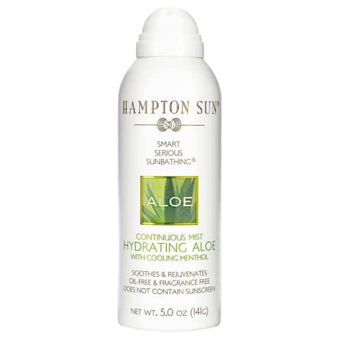 Hampton Sun Hydrating Aloe Continuous Mist 5 oz