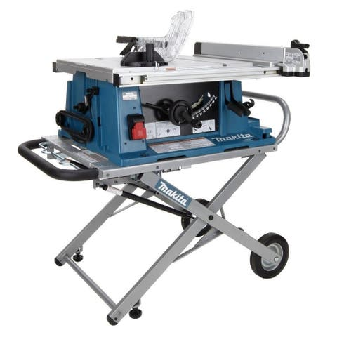 """Makita 10"""" Contractor Table Saw with Stand"""