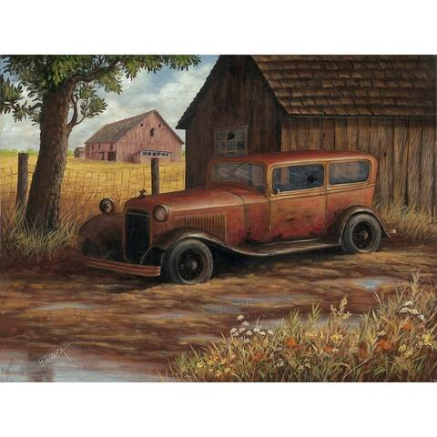 CANVAS The Old Ford by Robert Wavra Country Graphic Art