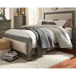 Progressive Willow Complete Upholstered Bed
