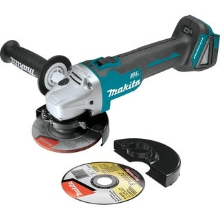 """Makita 18V LXT 4 1/2"""" Cut-Off/Angle Grinder - Tool Only"""