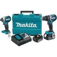 Makita 18V LXT Lithium-Ion Brushless Cordless 2-Pc. Combo Kit (4.0Ah)