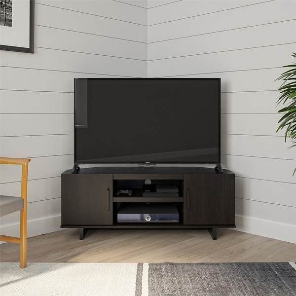 Copper Grove Dorothea Corner TV Stand. Opens flyout.