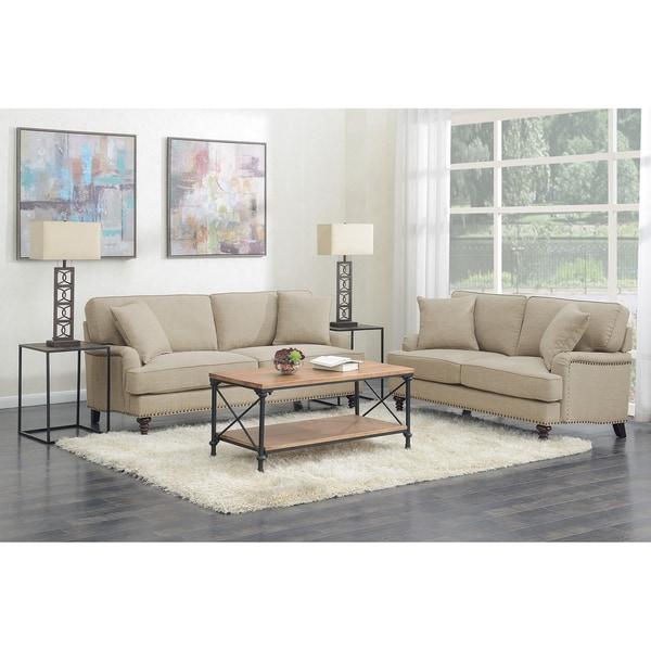 Picket House Furnishings Cassandra 2PC Living Room Set-Sofa & Loveseat