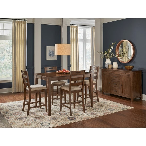 Simply Solid Whitney Solid Wood 5-piece Dining Collection